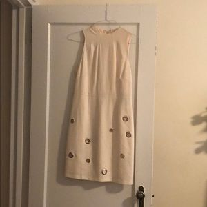 Kensie cocktail dress in ivory, size small
